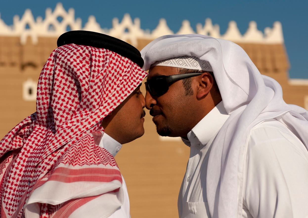 15 ways people greet each other from countries around the world in saudi arabia as in other middle eastern countries and around the world muslims will very often greet each other with a handshake and the words m4hsunfo